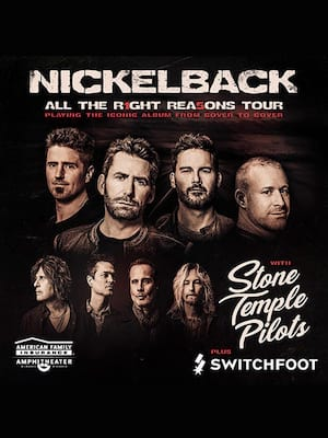Nickelback at DTE Energy Music Center