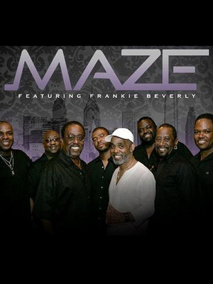 Maze and Frankie Beverly at Cynthia Woods Mitchell Pavilion