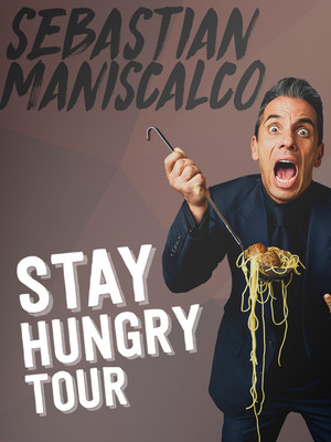 Sebastian Maniscalco at Peoria Civic Center Theatre