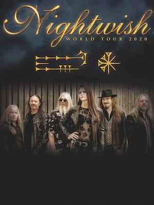 Nightwish, Northern Alberta Jubilee Auditorium, Edmonton