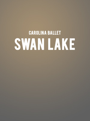 Carolina Ballet: Swan Lake at Raleigh Memorial Auditorium