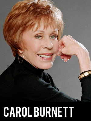 Carol Burnett, Connor Palace Theater, Cleveland
