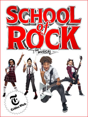 School of Rock The Musical, Winter Garden Theater, New York