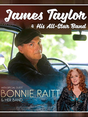 James Taylor & Bonnie Raitt at Huntington Center