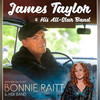 James Taylor Bonnie Raitt, North Charleston Coliseum, North Charleston