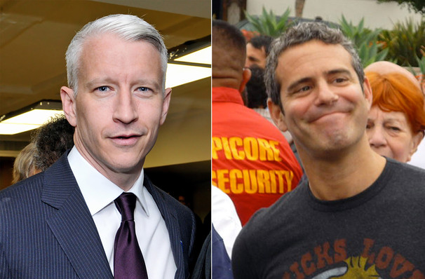 Anderson Cooper Andy Cohen, Smart Financial Center, Houston
