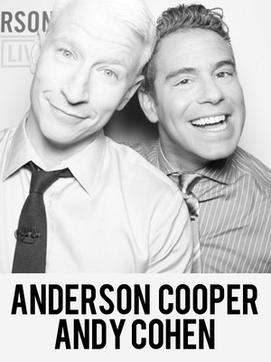Anderson Cooper Andy Cohen, The Chicago Theatre, Chicago