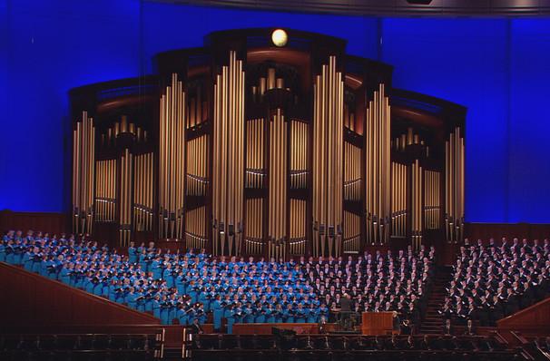 Mormon Tabernacle Choir, Orpheum Theatre, Vancouver