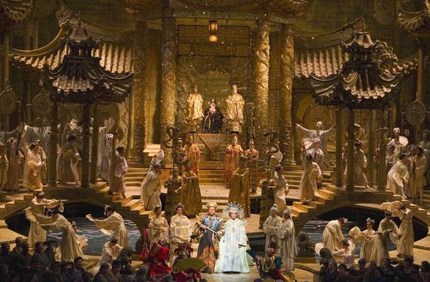 Metropolitan Opera Turandot, Metropolitan Opera House, New York