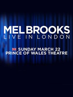 Mel Brooks Live In London Poster