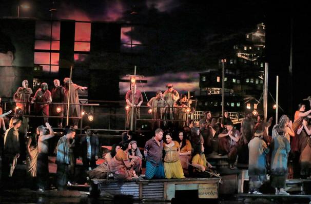 Metropolitan Opera Les Pecheurs de Perles, Metropolitan Opera House, New York