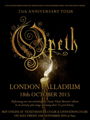 An Evening With Opeth Poster
