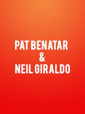 Pat Benatar & Neil Giraldo at Saban Theater