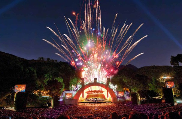 Los Angeles Philharmonic Tchaikovsky Spectacular, Hollywood Bowl, Los Angeles