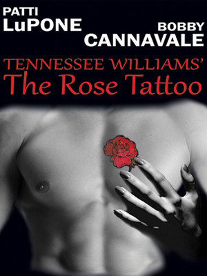 The Acting Company: The Rose Tattoo Poster
