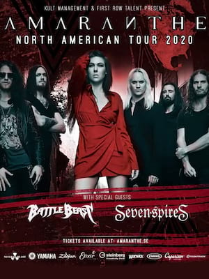 Amaranthe at Park Theatre