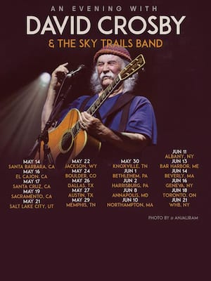 David Crosby at Charleston Music Hall