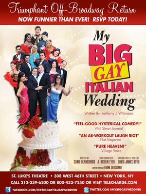 My Big Gay Italian Wedding Poster