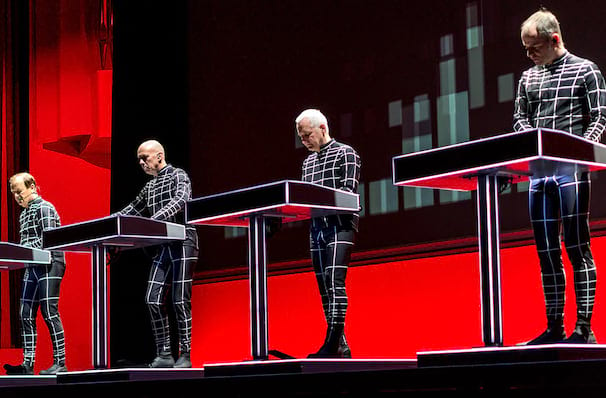 Kraftwerk, Bill Graham Civic Auditorium, San Francisco
