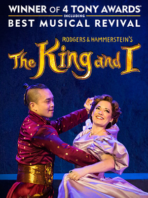 Rodgers Hammersteins The King and I, Proctors Theatre Mainstage, Schenectady