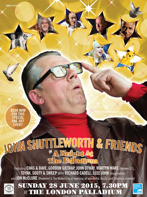 John Shuttleworth and Friends Poster