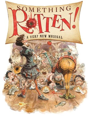 Something Rotten, Orpheum Theatre, San Francisco