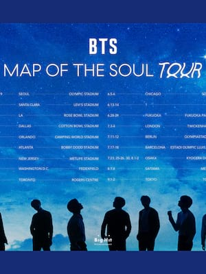 BTS Bangtan Boys, Soldier Field Stadium, Chicago