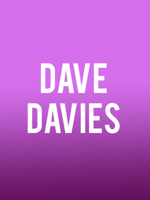 Dave Davies at City Winery