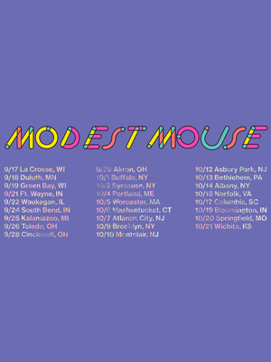 Modest Mouse, Wings Stadium, Kalamazoo