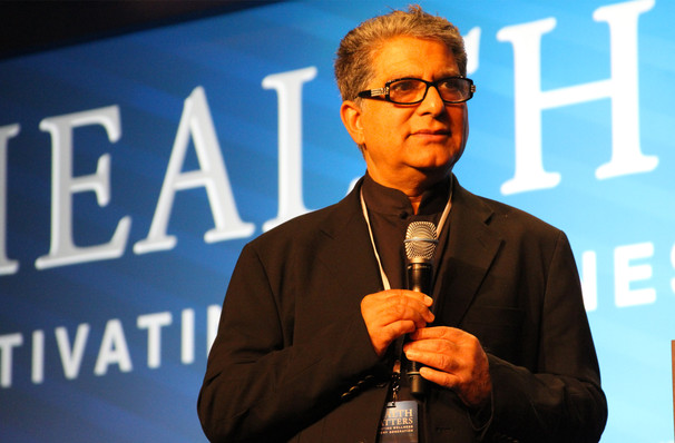 Deepak Chopra, Bergen Performing Arts Center, New York