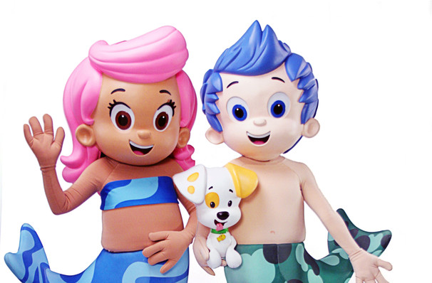 Catch Bubble Guppies Live it's not here long!