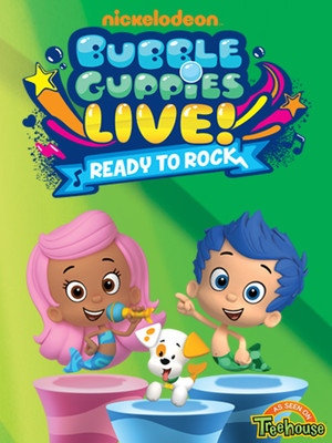 Bubble Guppies Live Poster