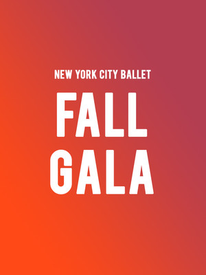 New York City Ballet - Fall Gala at David H Koch Theater
