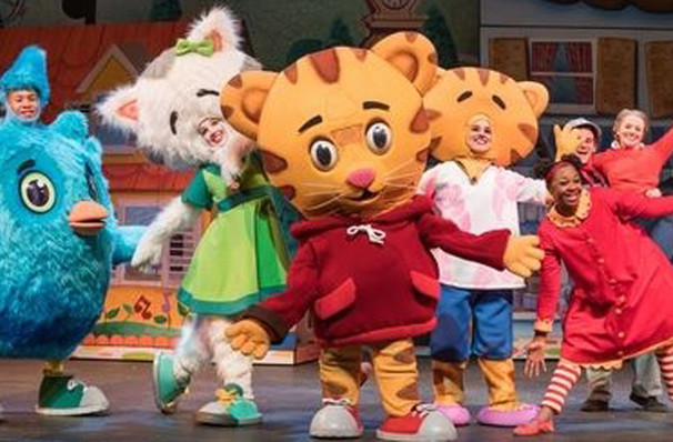 Daniel Tiger's Neighborhood's one night visit to Midland