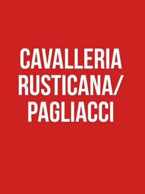 Cavalleria rusticana/ Pagliacci Poster