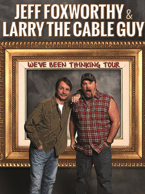 Jeff Foxworthy & Larry The Cable Guy at Scotiabank Saddledome