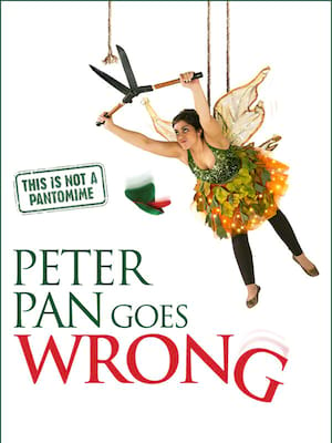 Peter Pan Goes Wrong at Alexandra Palace