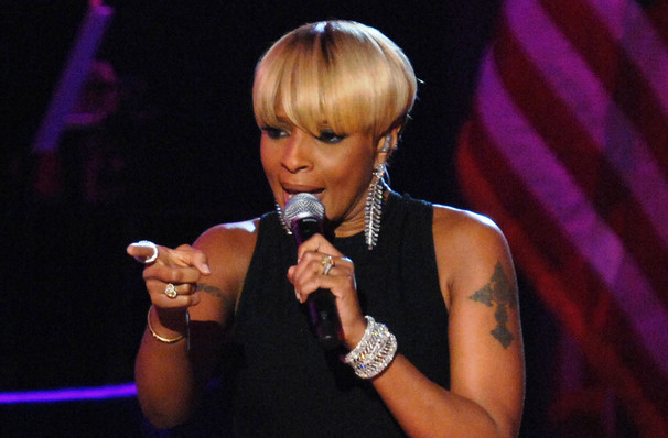 Dates announced for Mary J. Blige