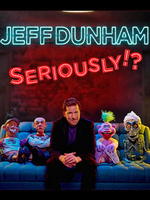 Jeff Dunham, Sun National Bank Center , New Brunswick