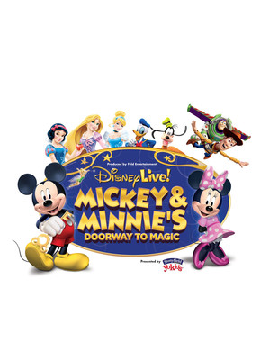 Disney Live! Mickey and Minnie's Doorway to Magic Poster