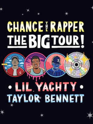 Chance The Rapper at Pechanga Arena