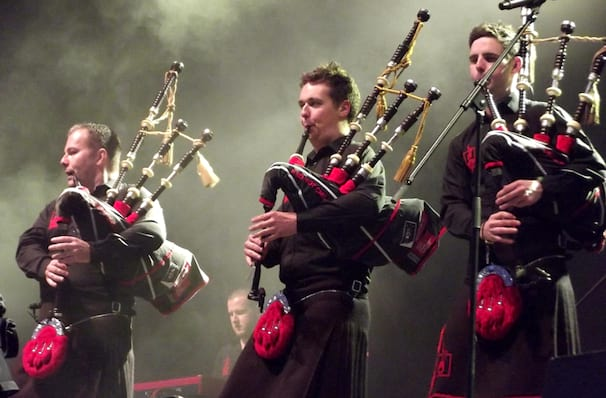 Red Hot Chilli Pipers, Hershey Theatre, Hershey