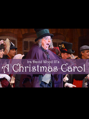 Ira David Wood III's A Christmas Carol Poster