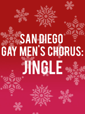 San Diego Gay Men's Chorus - Jingle Poster