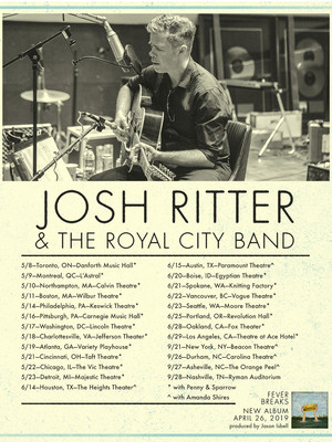 Josh Ritter, Ogden Theater, Denver