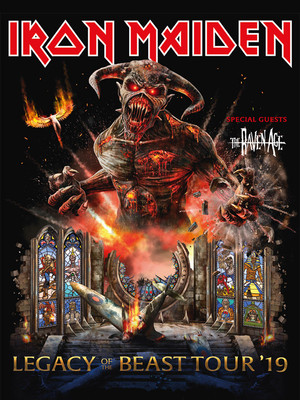 Iron Maiden at Cynthia Woods Mitchell Pavilion
