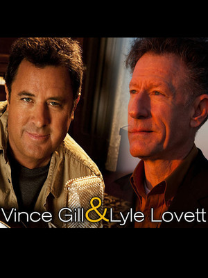 Vince Gill & Lyle Lovett at Nourse Theatre
