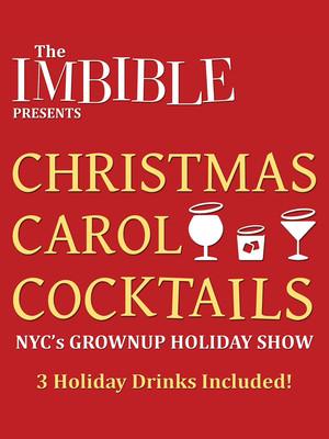 The Imbible: Christmas Carol Cocktails Poster