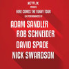 Adam Sandler David Spade Nick Swardson Rob Schneider, Bob Carr Performing Arts Centre, Orlando