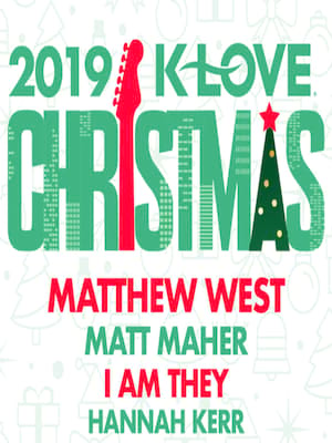 K-Love Christmas Tour Poster
